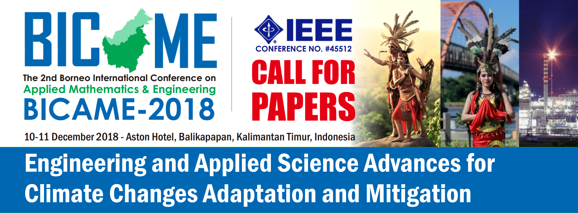 BICAME 2018 – 2nd Borneo International Conference on Applied